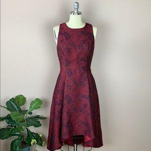 White House Black Market Red Dress Size 6